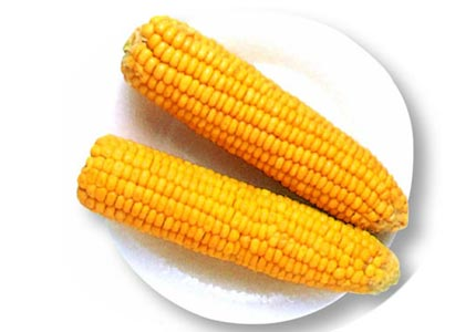 Boiled maize